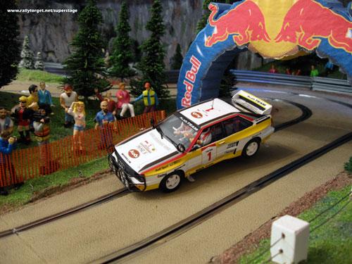 Fly Audi Quattro A2 Safari Rally 1984 Hannu Mikkola Arne